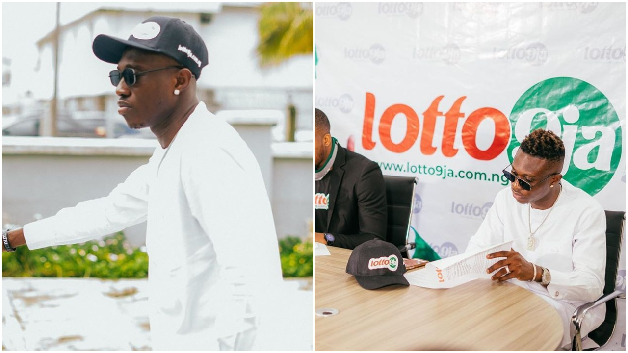 Popular music star, Zlatan Ibile bags new ambassadorial deal for lotto9ja (photos)