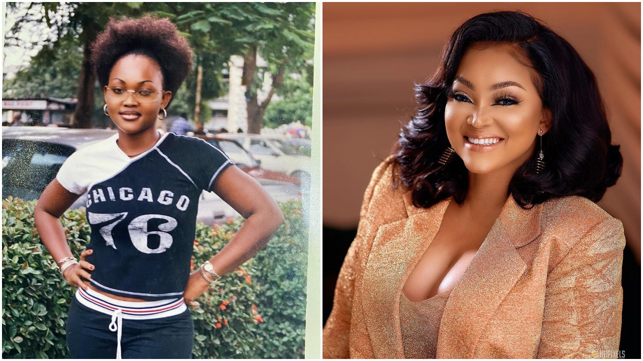 Omo I have always been a Baby girl - Popular Nollywood actress Mercy aigbe shares 20 years throwback (photo)