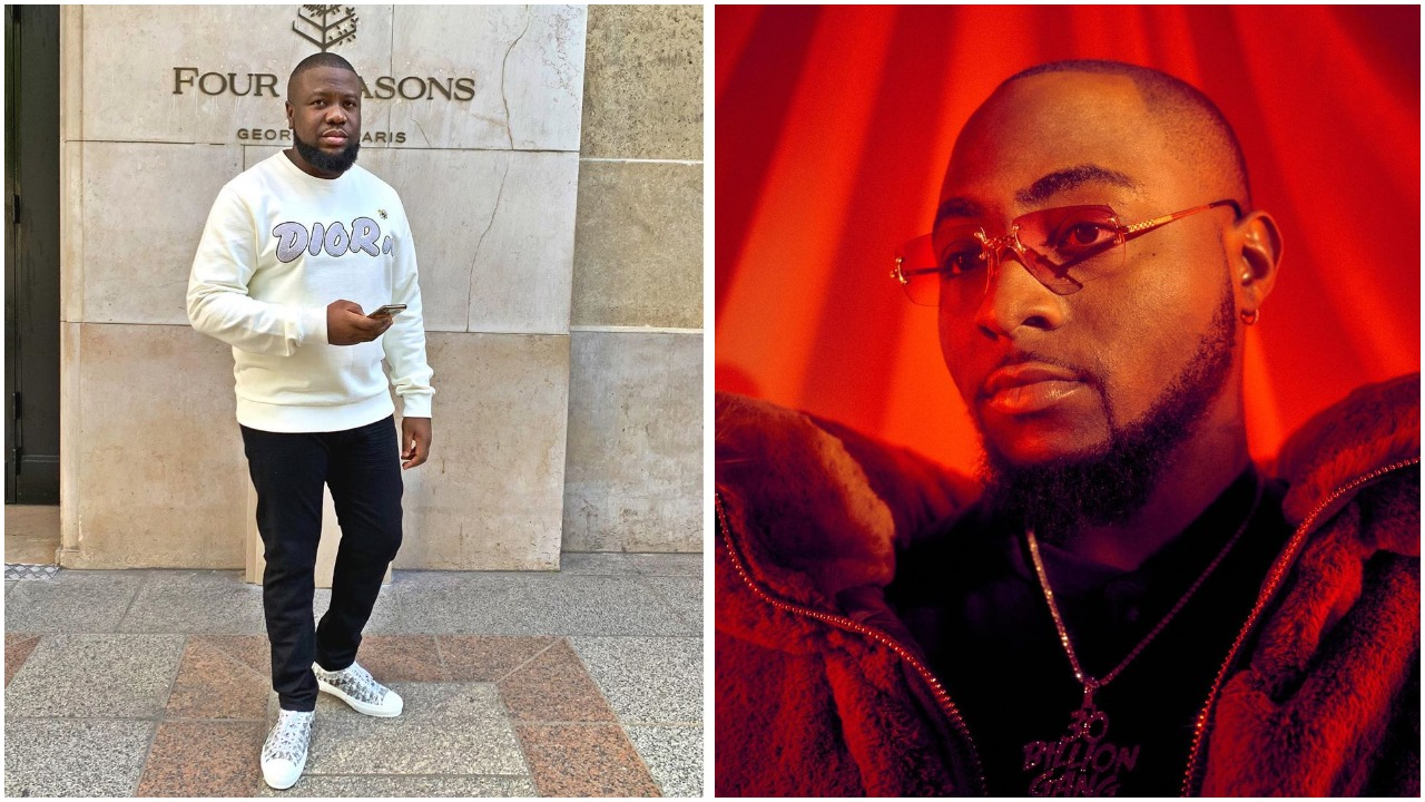 Adorable photo of Davido, Chioma and allegedly fraudstar Hushpuppi surfaces online (photo)