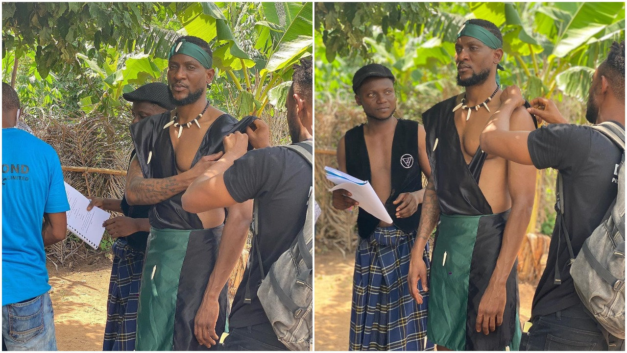 'I don blow, Mama I made it to Nollywood' - Former BBNaija star Omashola brags about his new achievement (photos)