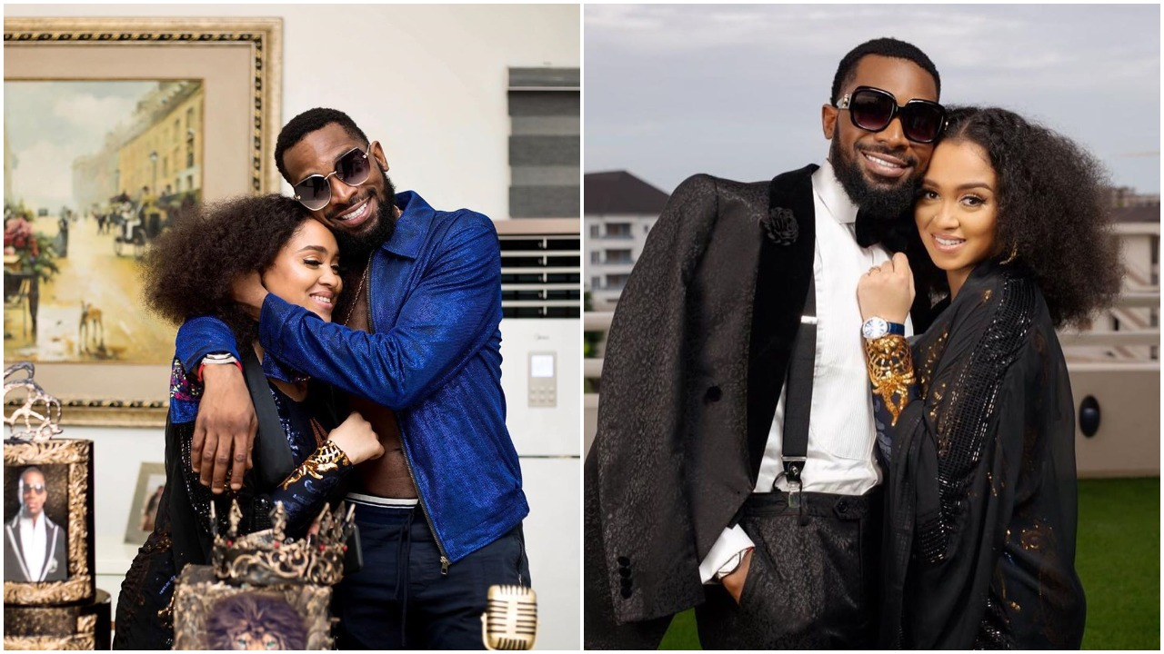 'You mean everything to me' - D'banj celebrates wife on their wedding anniversary (photo)