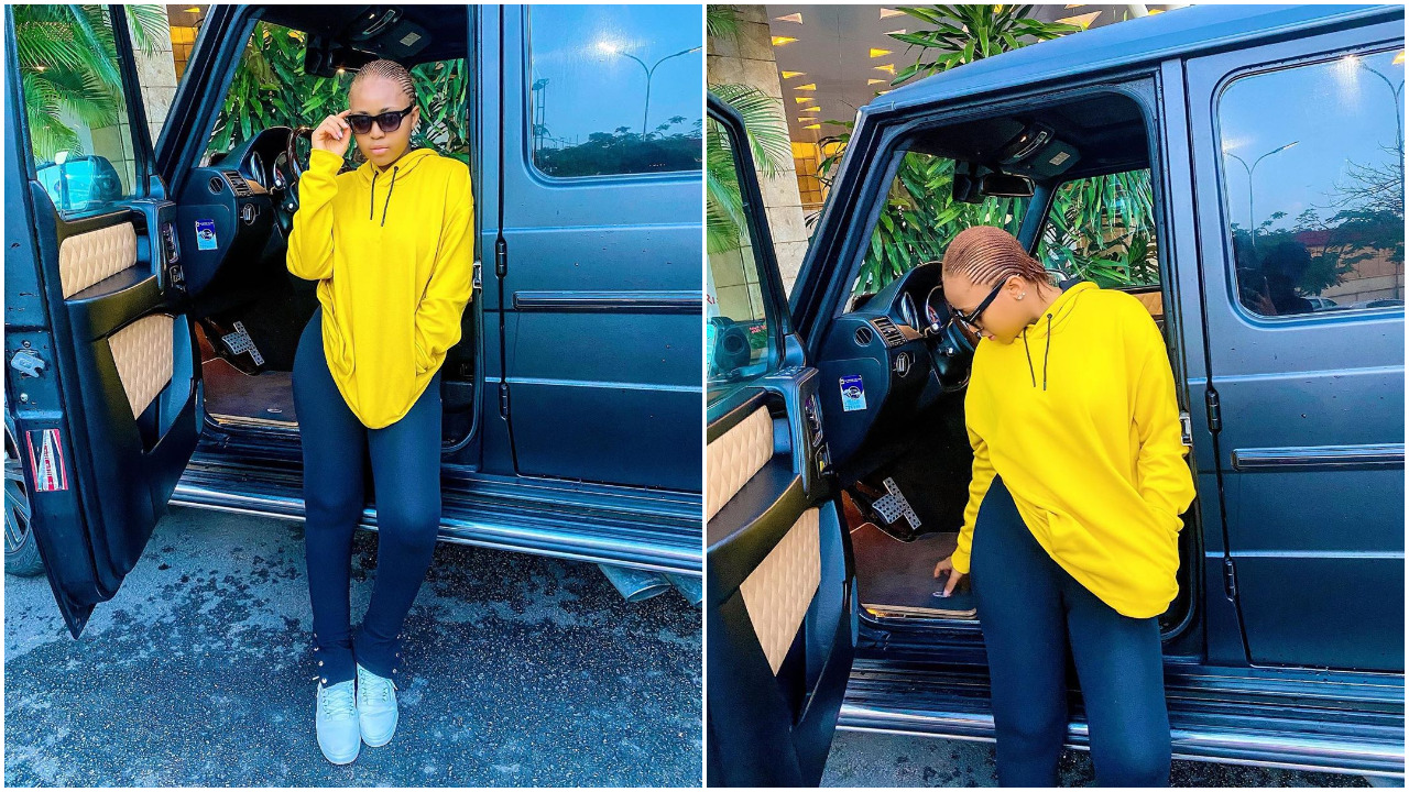 Being Happy Is A Very Personal Thing, Regina Daniels In New Beautiful Photos