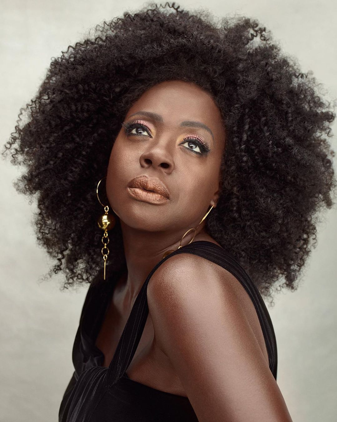 """""""My Entire Life Has Been A Protest"""" - Actress Viola Davis Covers Vanity Fair Magazine (Photos)"""