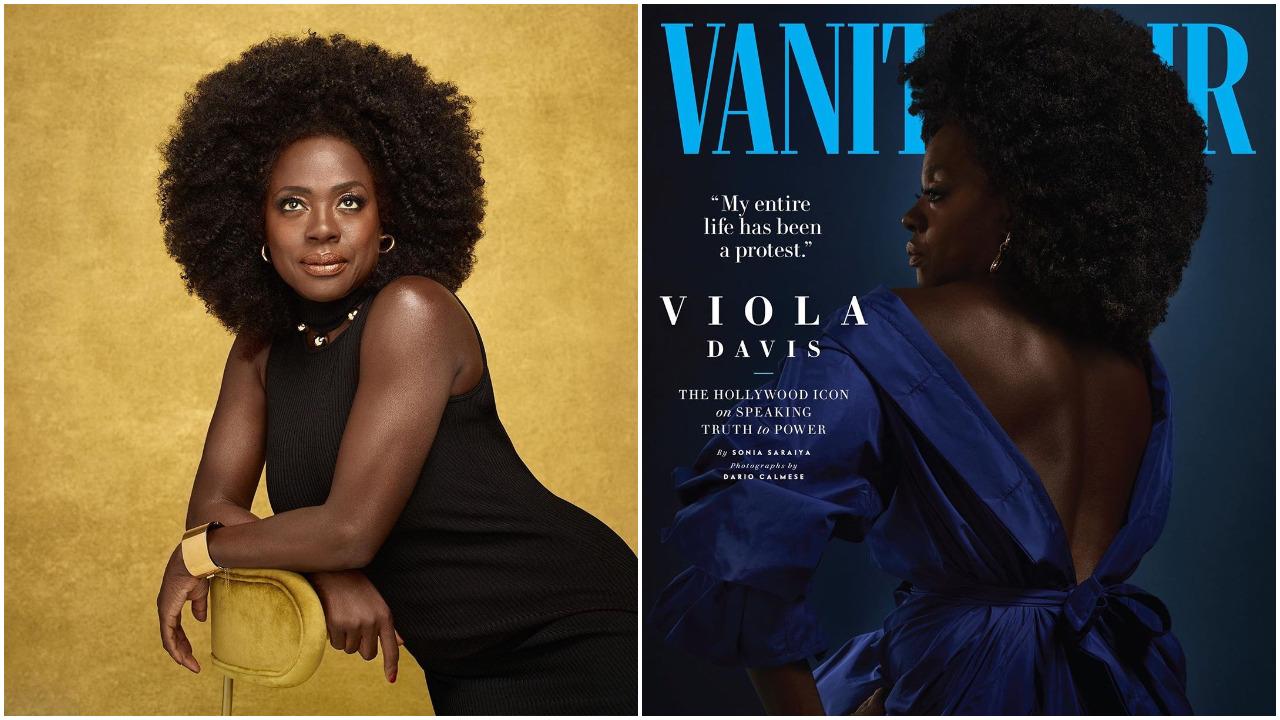 Actress Viola Davis Covers Vanity Fair Magazine