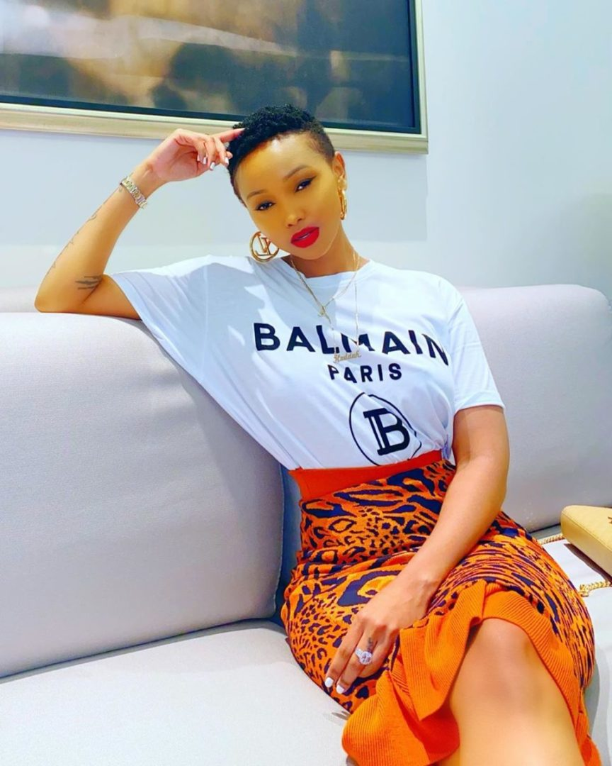 Kenyan Socialite Huddah Monroe cries out