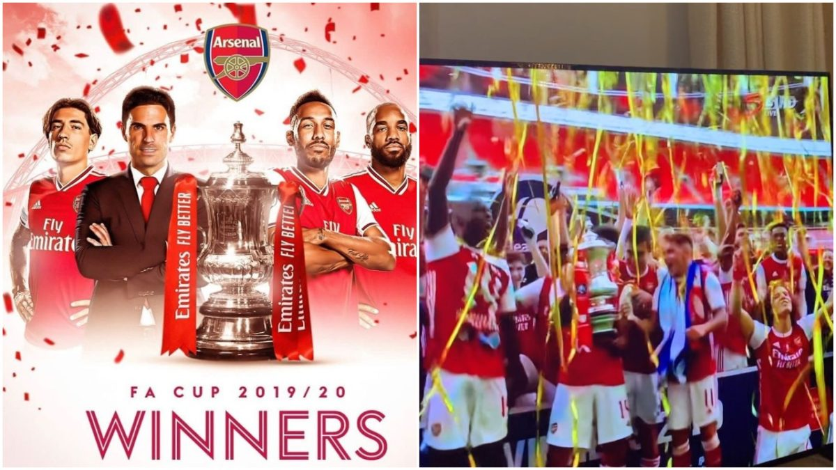 Arsenal wins 14th FA Cup Title scaled
