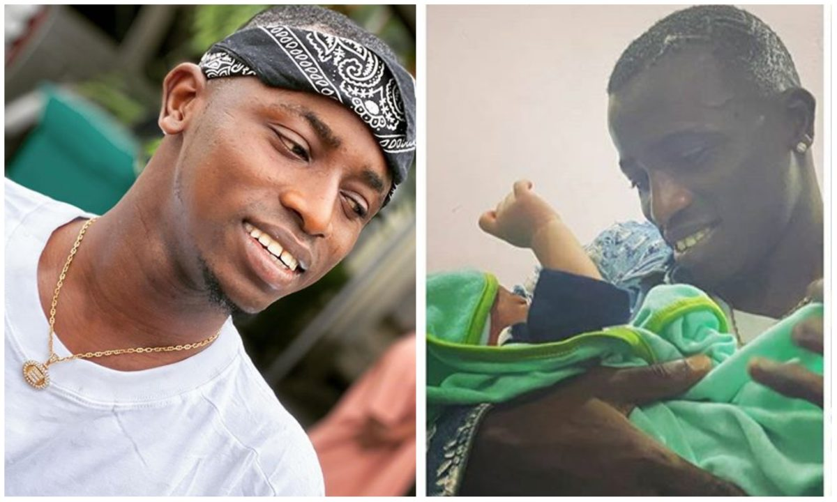 Davido's crew member, Aloma welcome baby boy, names him after Davido