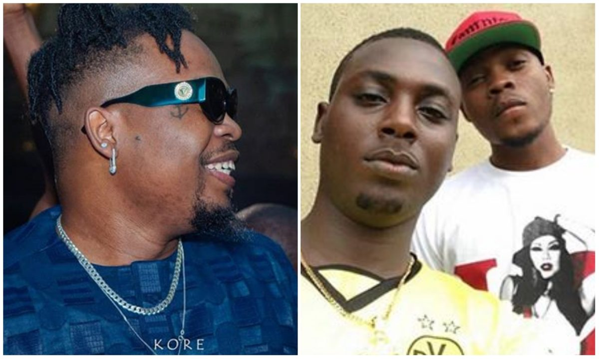 Olamide celebrates his old friend, Ojo Sneh who stood by him before fame (Photo)