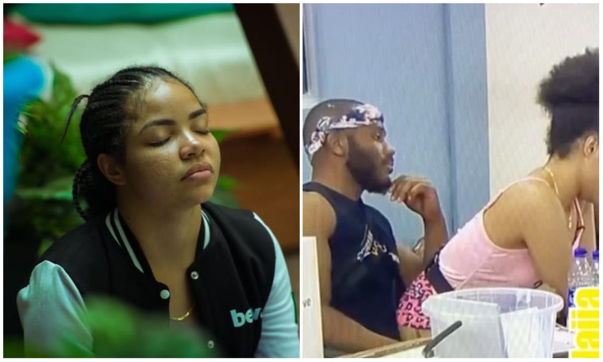 #BBNaija: Nengi spotted giving Kiddwaya Lap Dance in the middle of the night (Video)