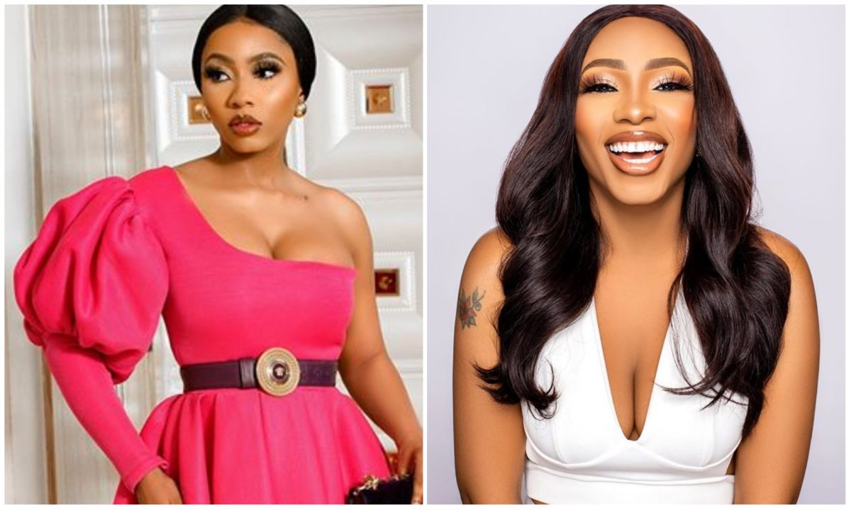 #BBNaija: Think of me as a barbie – Mercy flaunts cleavages in new sexy outfit (Photos)