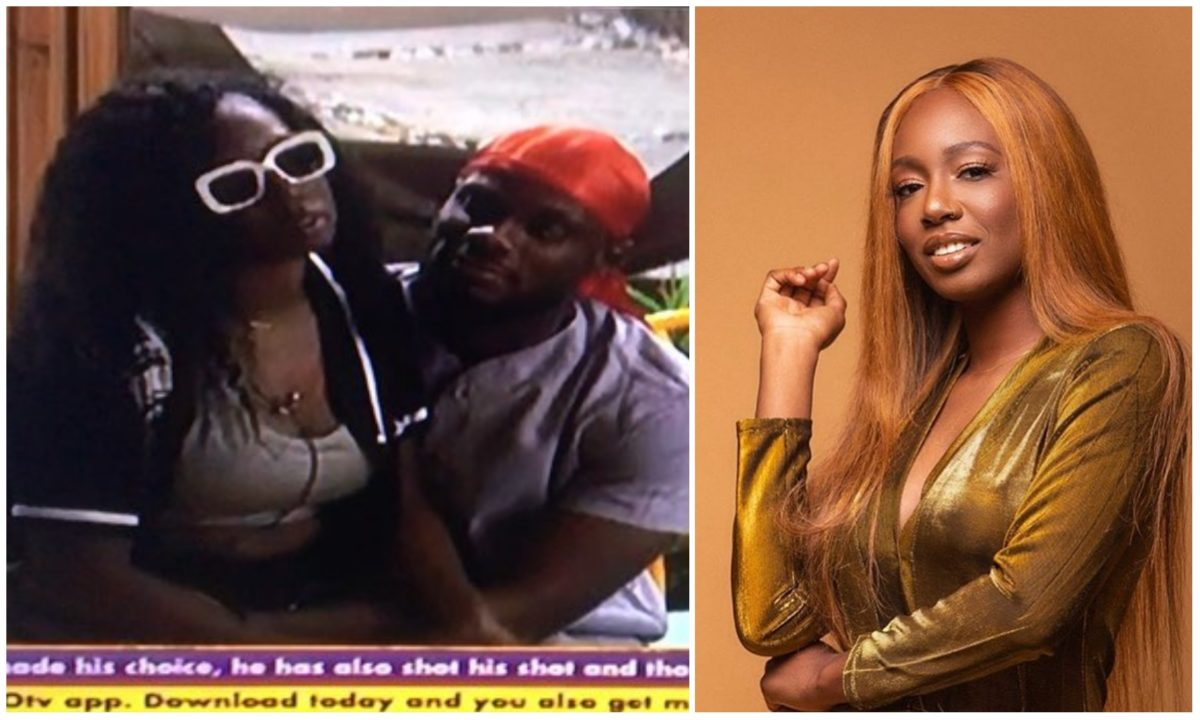 #BBNaija: Watch Tolanibaj and Prince discuss about when to have $ex (Video)