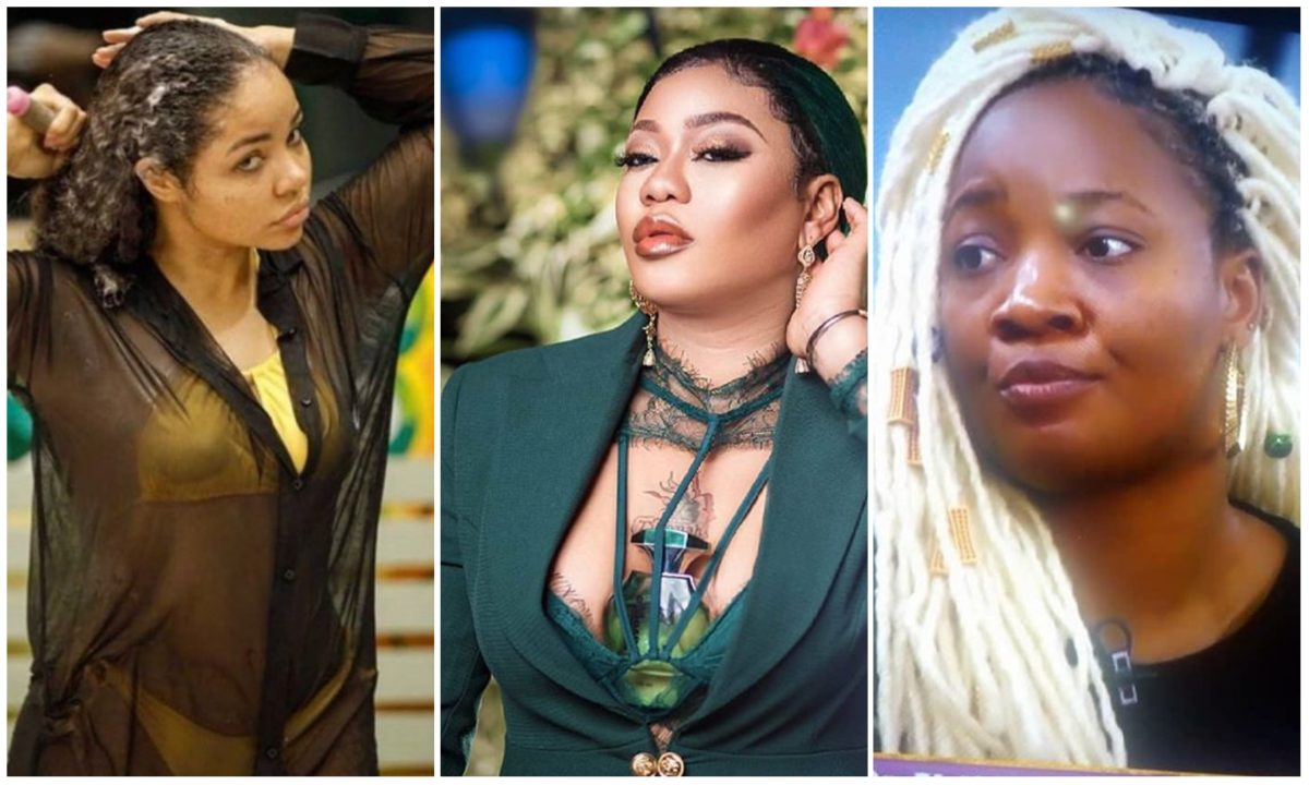 #BBNaija: Toyin Lawani throws weight behind Lucy after her fight with Nengi