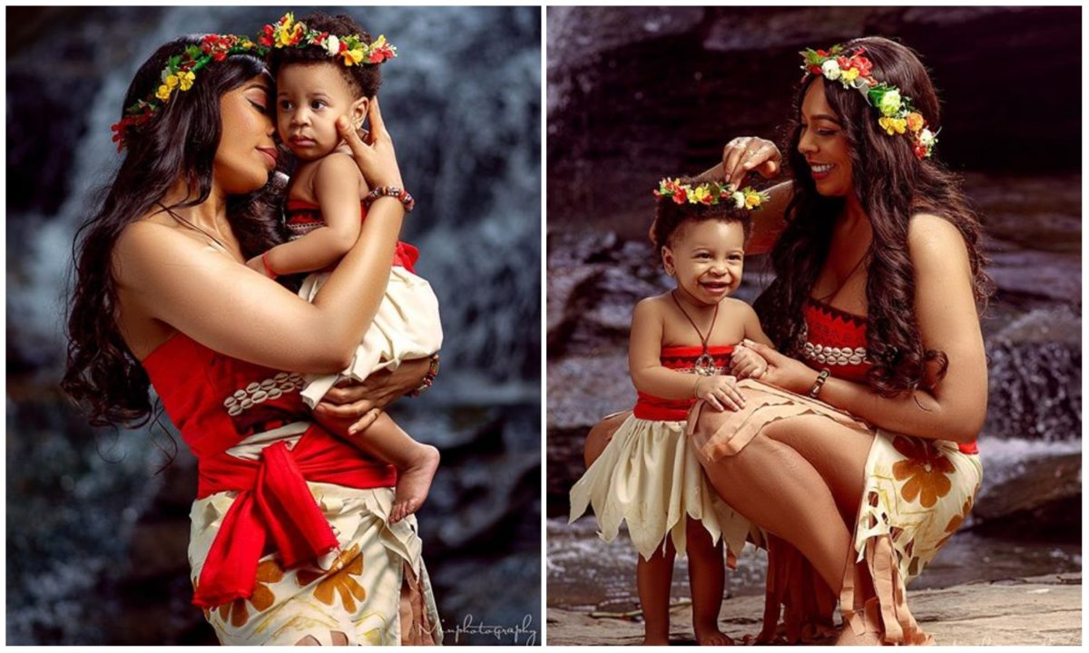 You're The Best Gift Ever – BBNaija's Tboss celebrates daughter's 1st birthday (Photos)