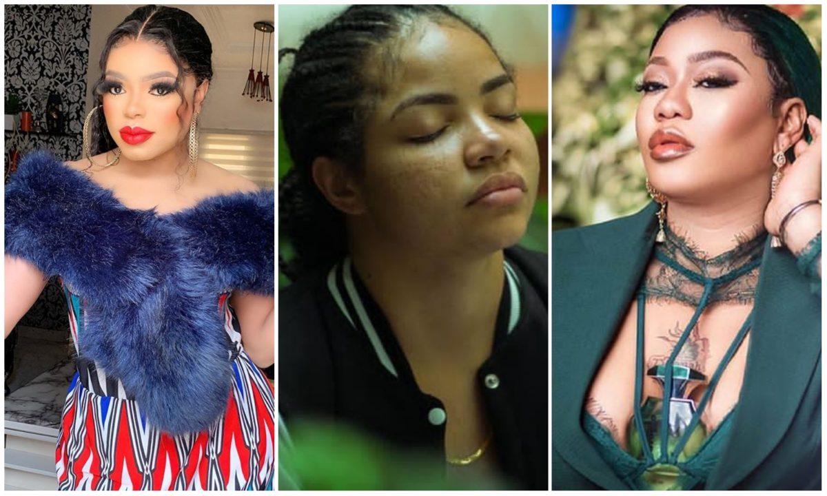 Stay away from Nengi – Controversial Bobrisky throws jibe at Toyin Lawani