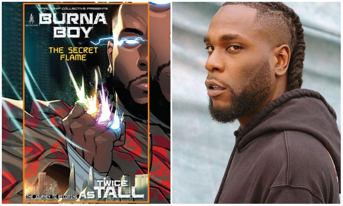 "Burna Boy to release comic book titled ""The Secret Flame"" alongside his new album"