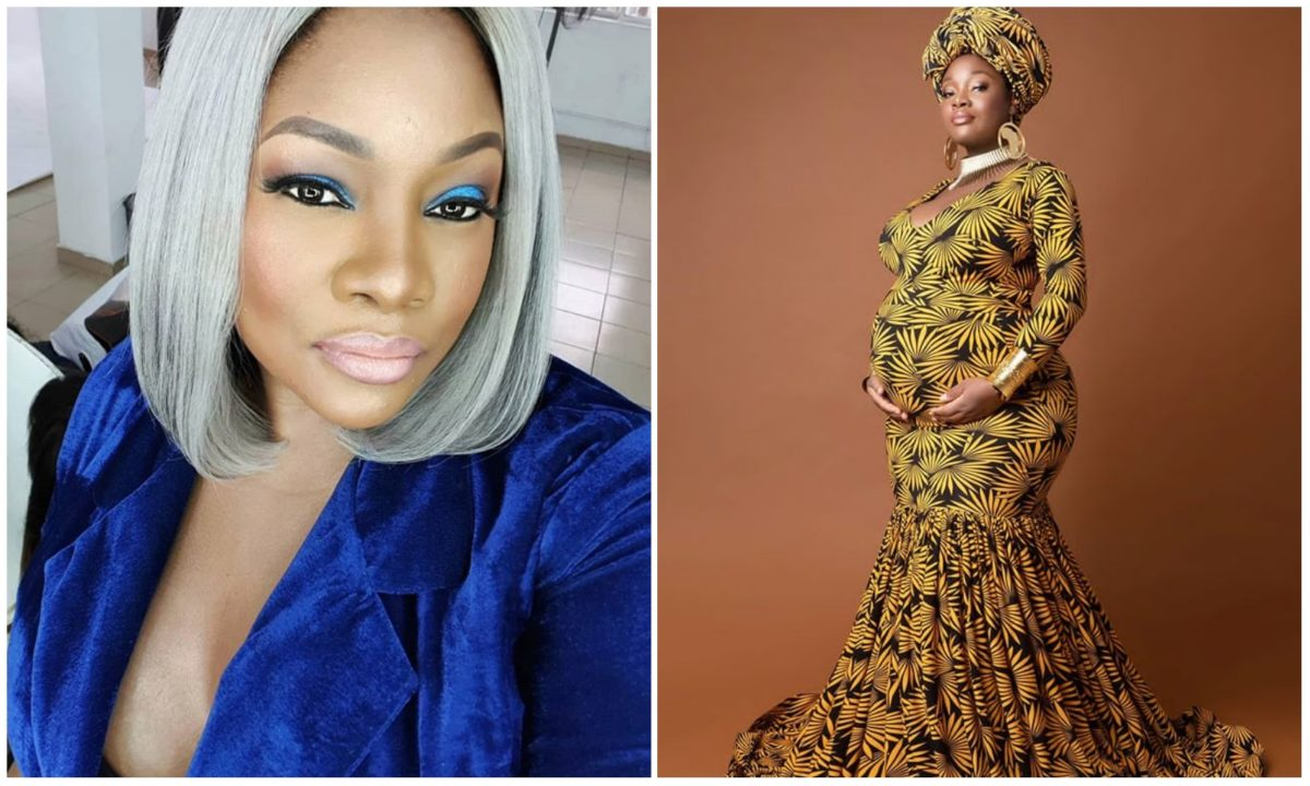 OAP Toolz shares first picture of her second child, reveals his name