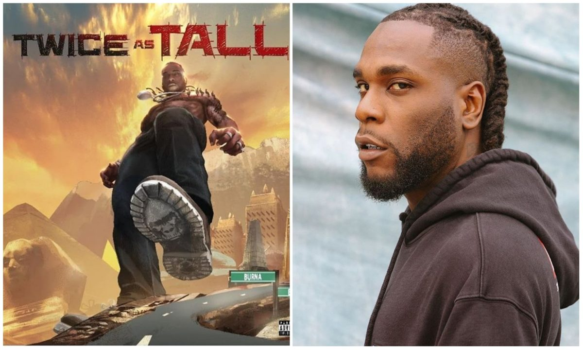 Watch Burna Boy's hosting party for his new album 'Twice As Tall' (Video)