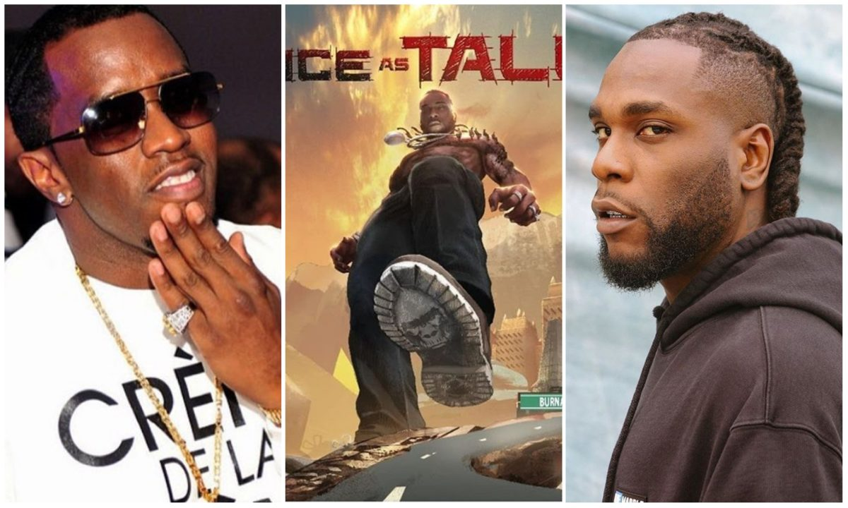 Diddy tips Burna Boy's album 'Twice As Tall' for GRAMMY album of the year (Video)