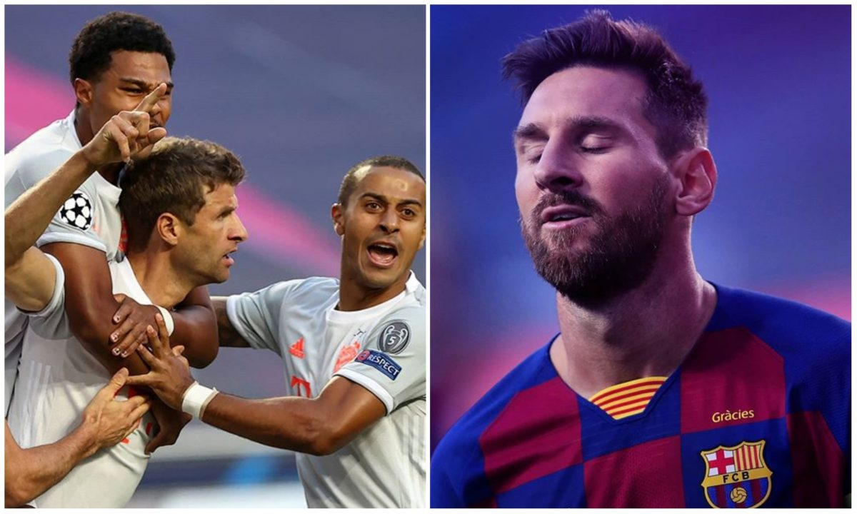 Bayern Munich thrash Barcelona 8- 2 to reach Champions League semi final