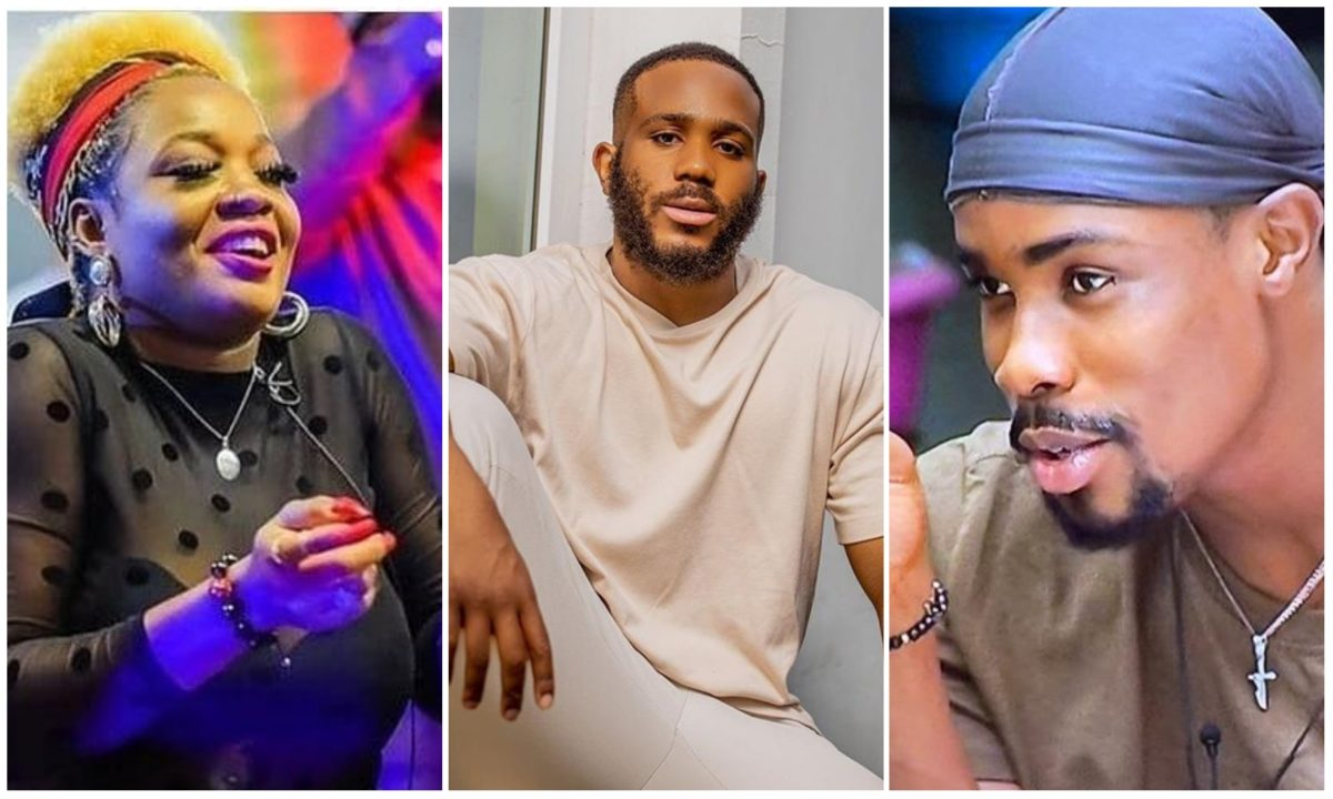 #BBNaija: Housemates clash with Kiddwaya over his ''insensitive comment'' (Video)