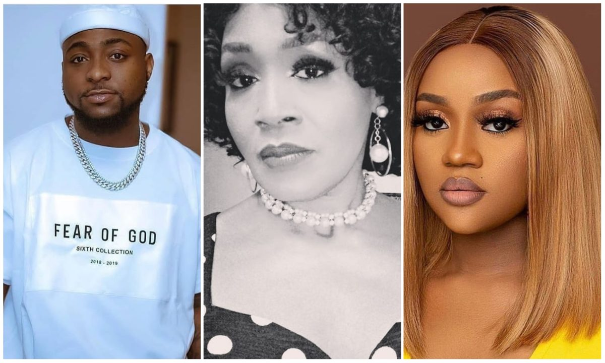 Kemi Olunloyo attacks Davido and Chioma insist they are not yet forgiven