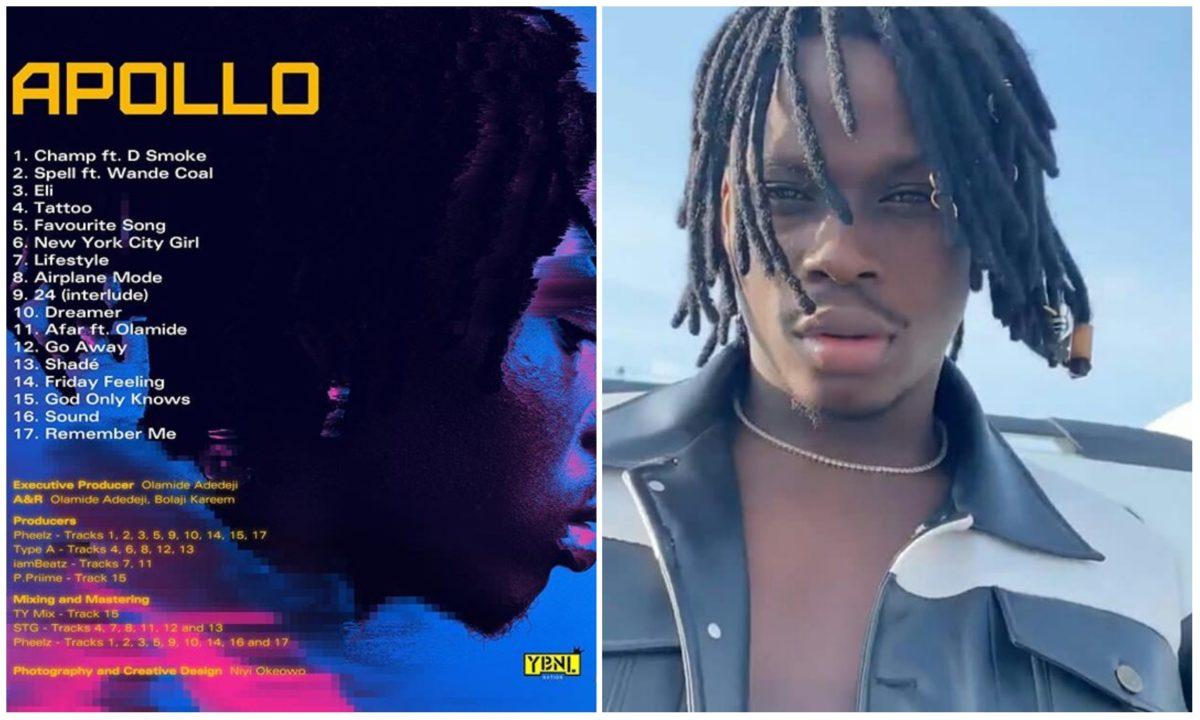 He deserves Grammy Award – Fans reacts to Fireboy DML's new album 'Apollo'