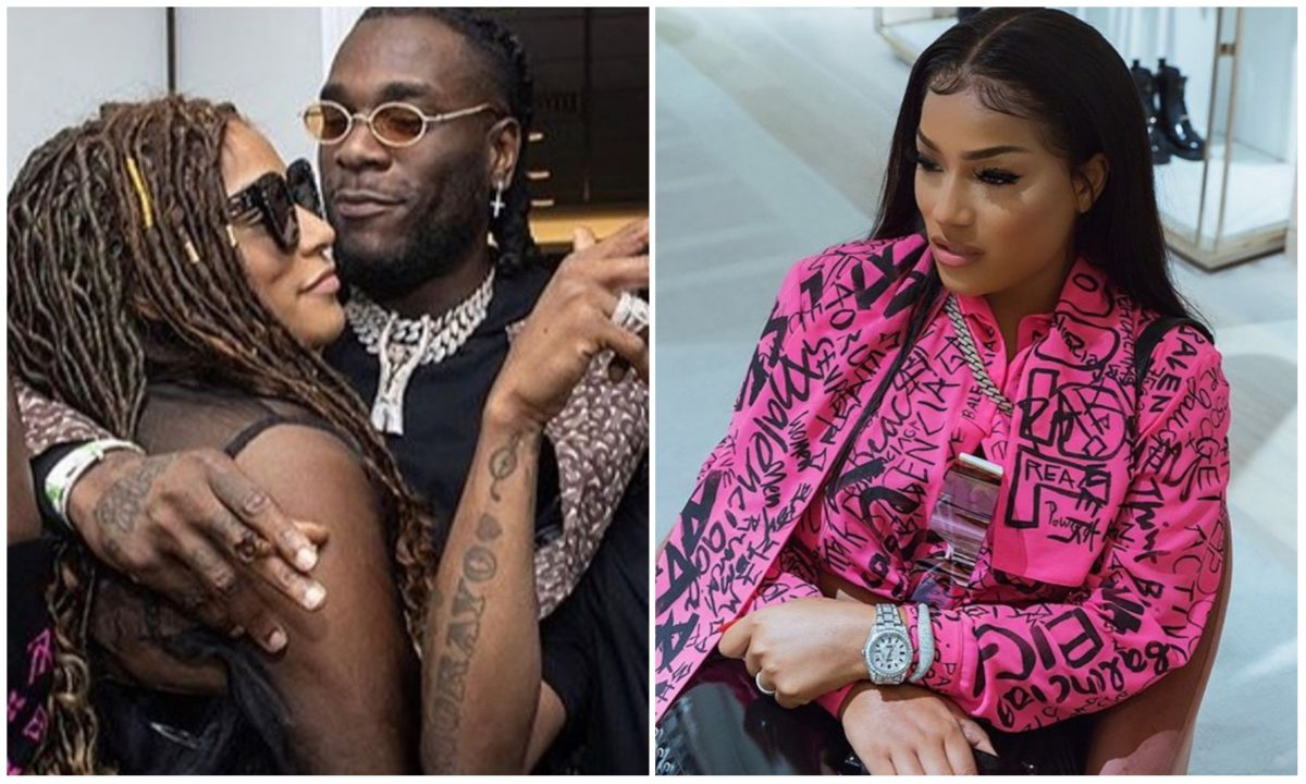 I don't like to show sh!t but I love him – Stefflon Don profess love to Burna Boy