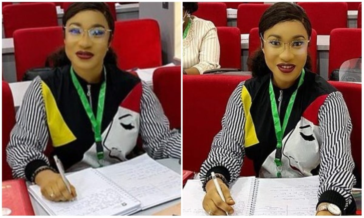 Best decision I ever made is returning to school - Tonto Dikeh reveals