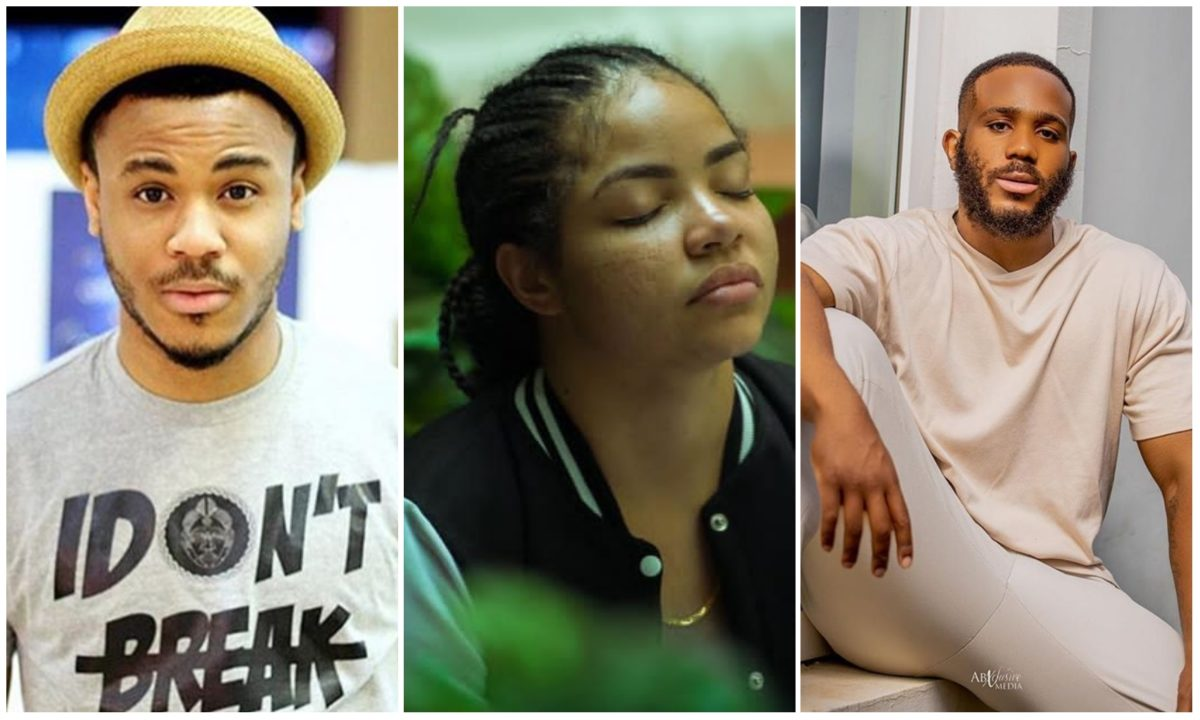 #BBNaija: Kidd is just my playing partner – Nengi tells Ozo who expressed concerns over their friendship (Video)