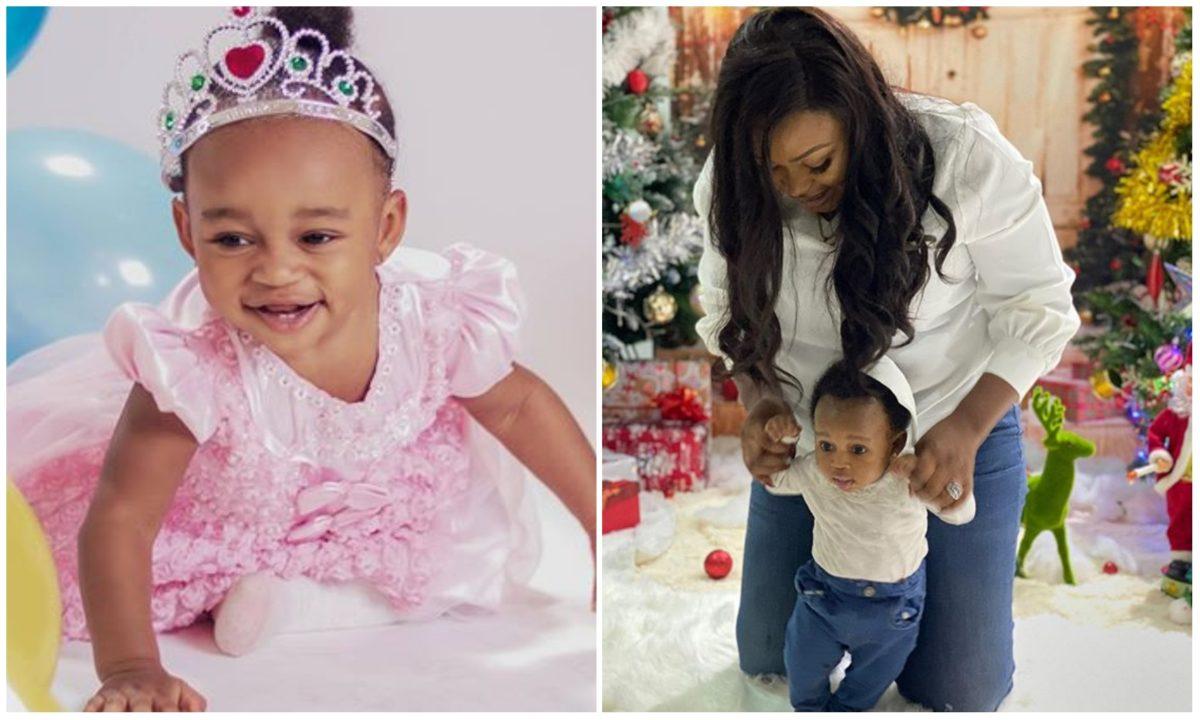 Ruth Kadiri pens heartfelt message to celebrate her daughter's 1st birthday (Photos)