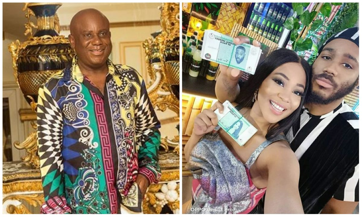 #BBNaija: Kiddwaya's father approve his  relationship with Erica (Video)