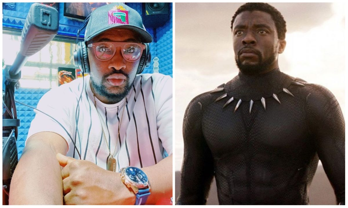 OAP Dotun berates a colleague who attack him for mourning Chadwick Boseman
