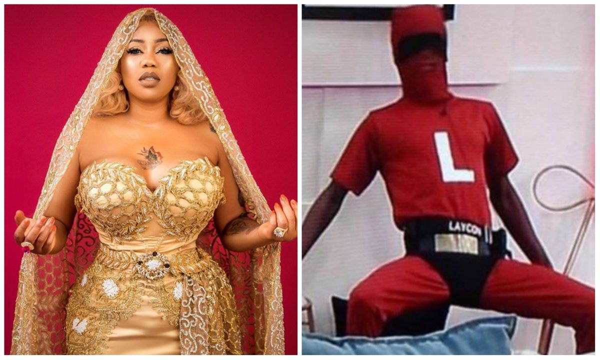 Toyin Lawani berates BBN organisers over Laycon's outfit for last night party (Photo)