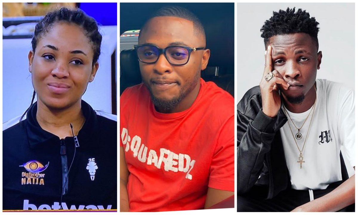 #BBNaija: Ubi Franklin blasts Erica for her statement on being linked with Laycon