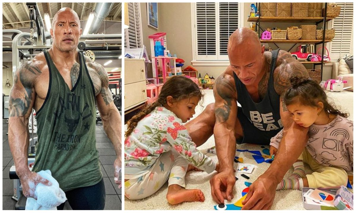 "Dwayne ""The Rock"" Johnson, and family test positive for COVID-19 (Video)"