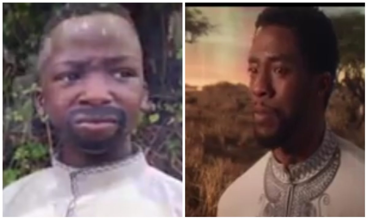 Ikorodu Bois pays emotional tribute to late Chadwick Boseman (Video)