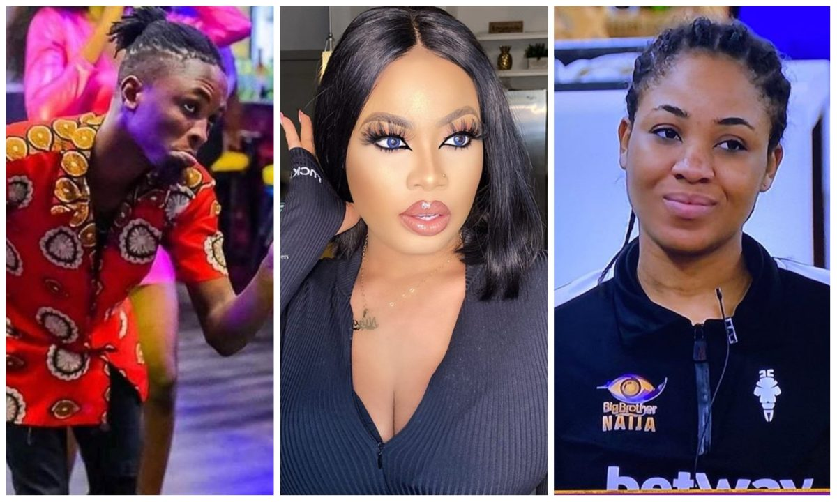 BBNaija's Nina Ivy drums support for Laycon after last night drama with Erica