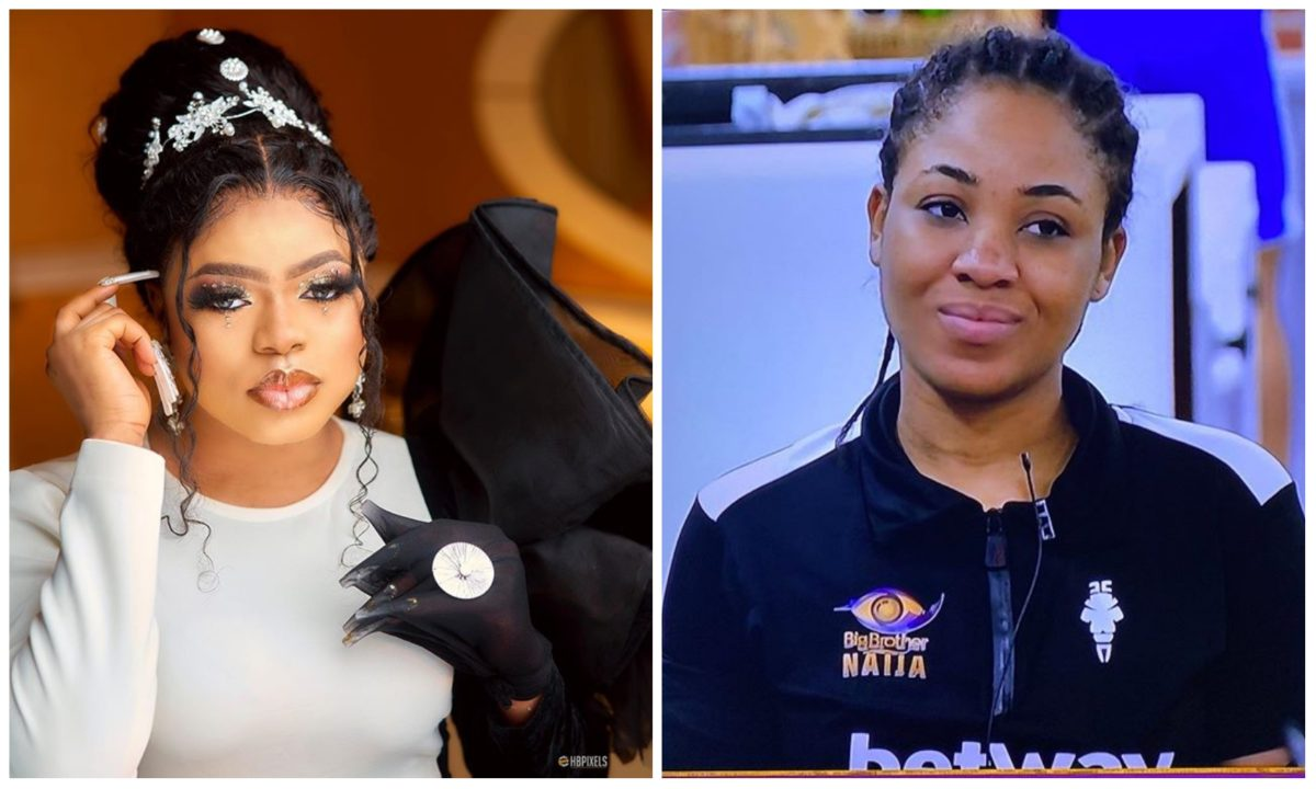 Bobrisky promises to give disqualified BBNaija housemate Erica 1M naira