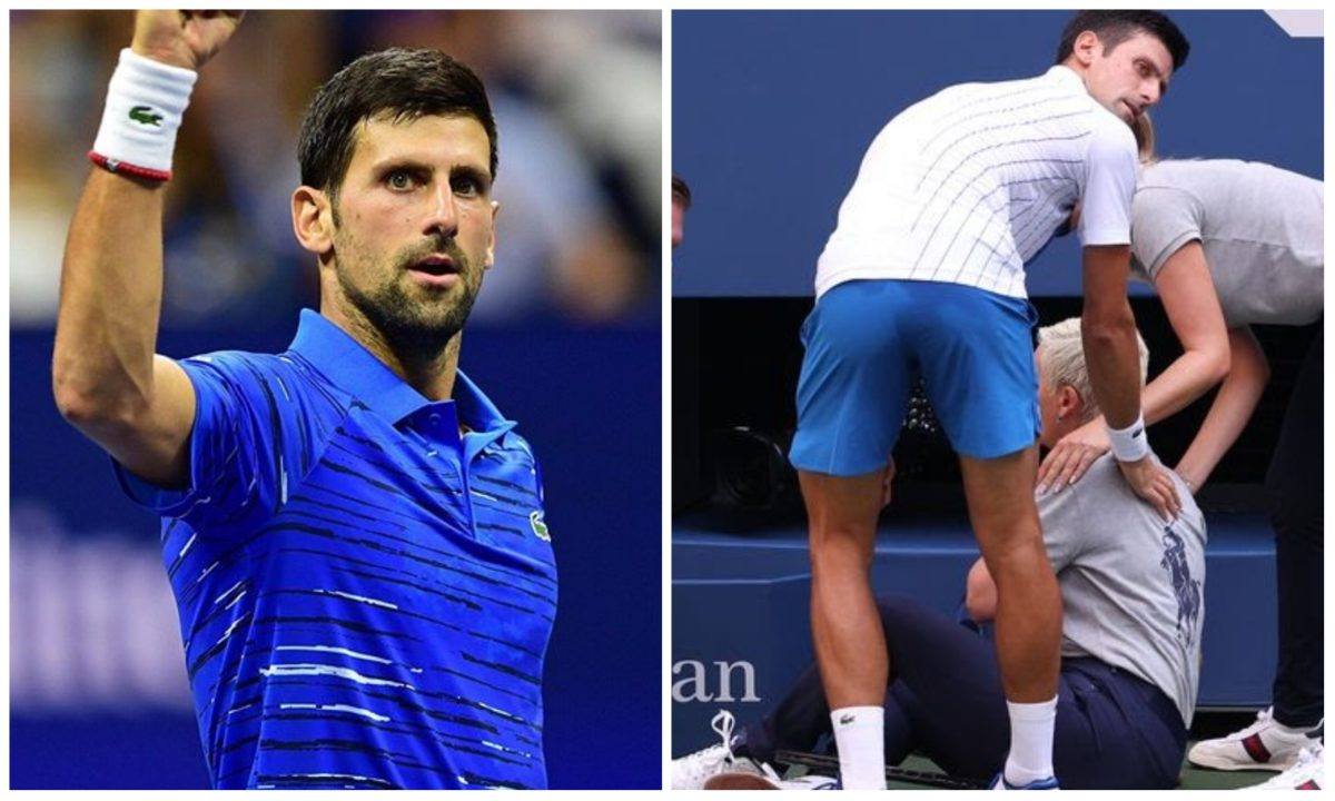 Novak Djokovic dumped out of US Open after slamming line judge with a ball