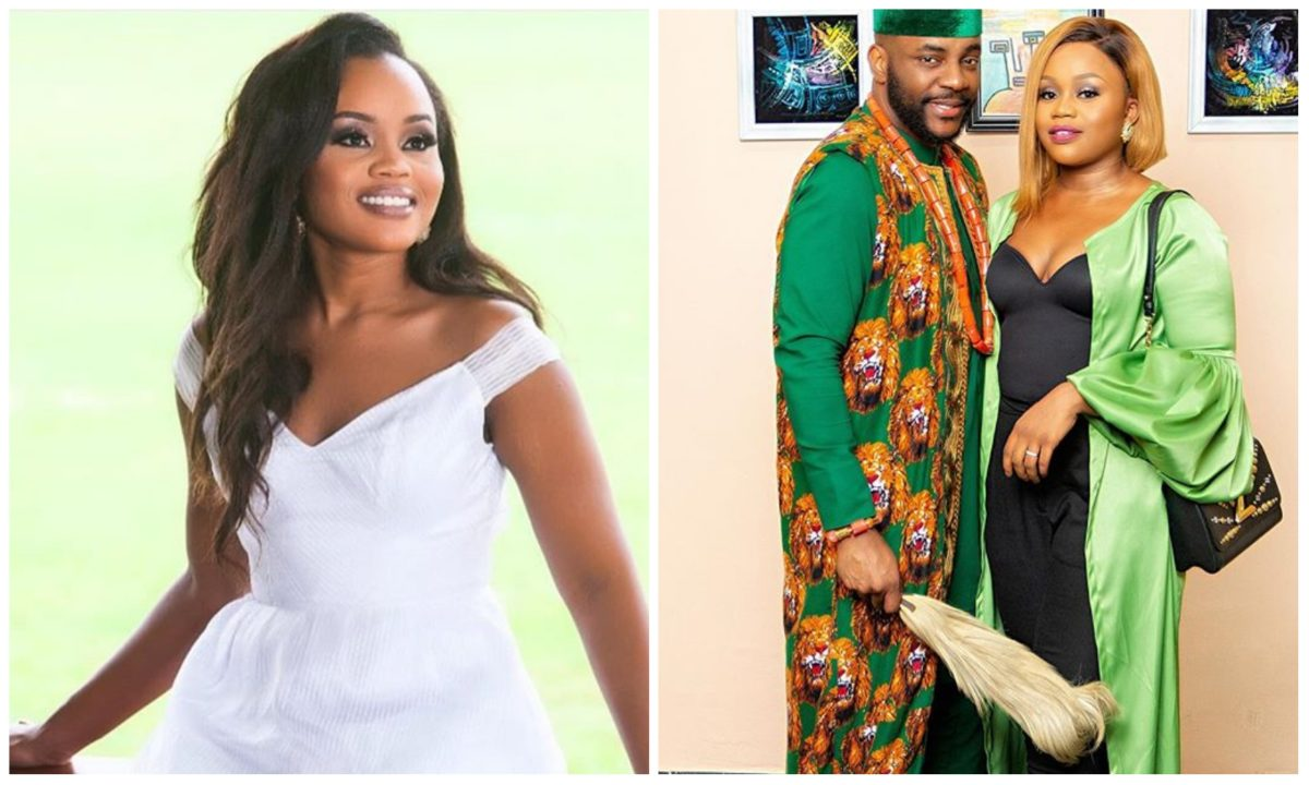 Ebuka looks amazing when he's naked – Wife, Cynthia Obi-Uchendu reveals