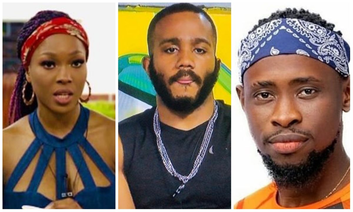 #BBNaija: Kiddwaya promise to sponsor a song with Trikytee, Vee and Neo (Video)