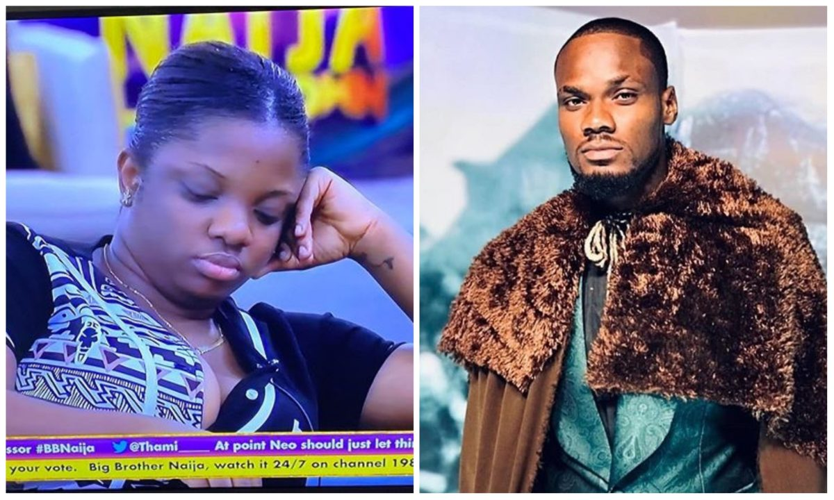 #BBNaija: Emotional Dorathy weeps over Prince eviction, shares her regret (Video)