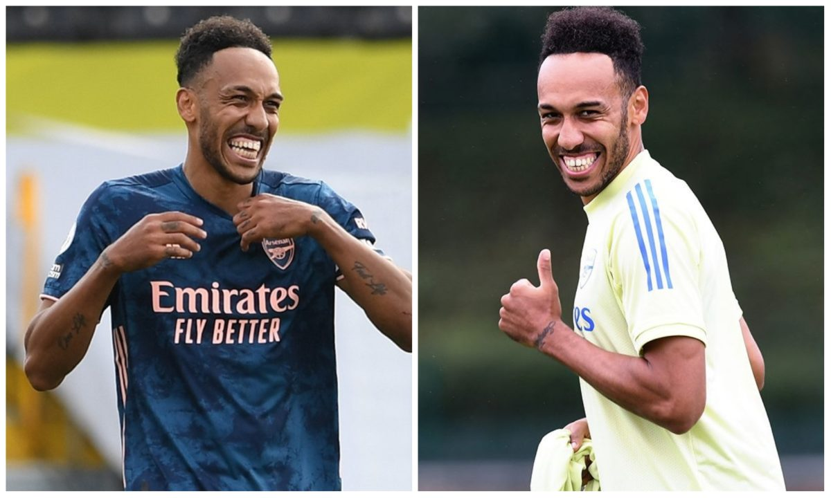 BREAKING: Pierre-Emerick Aubameyang  extends Arsenal contract to 2023