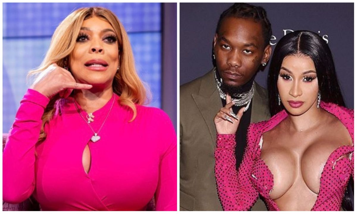 Media Personality, Wendy Williams confirms Cardi B and Offset's divorce