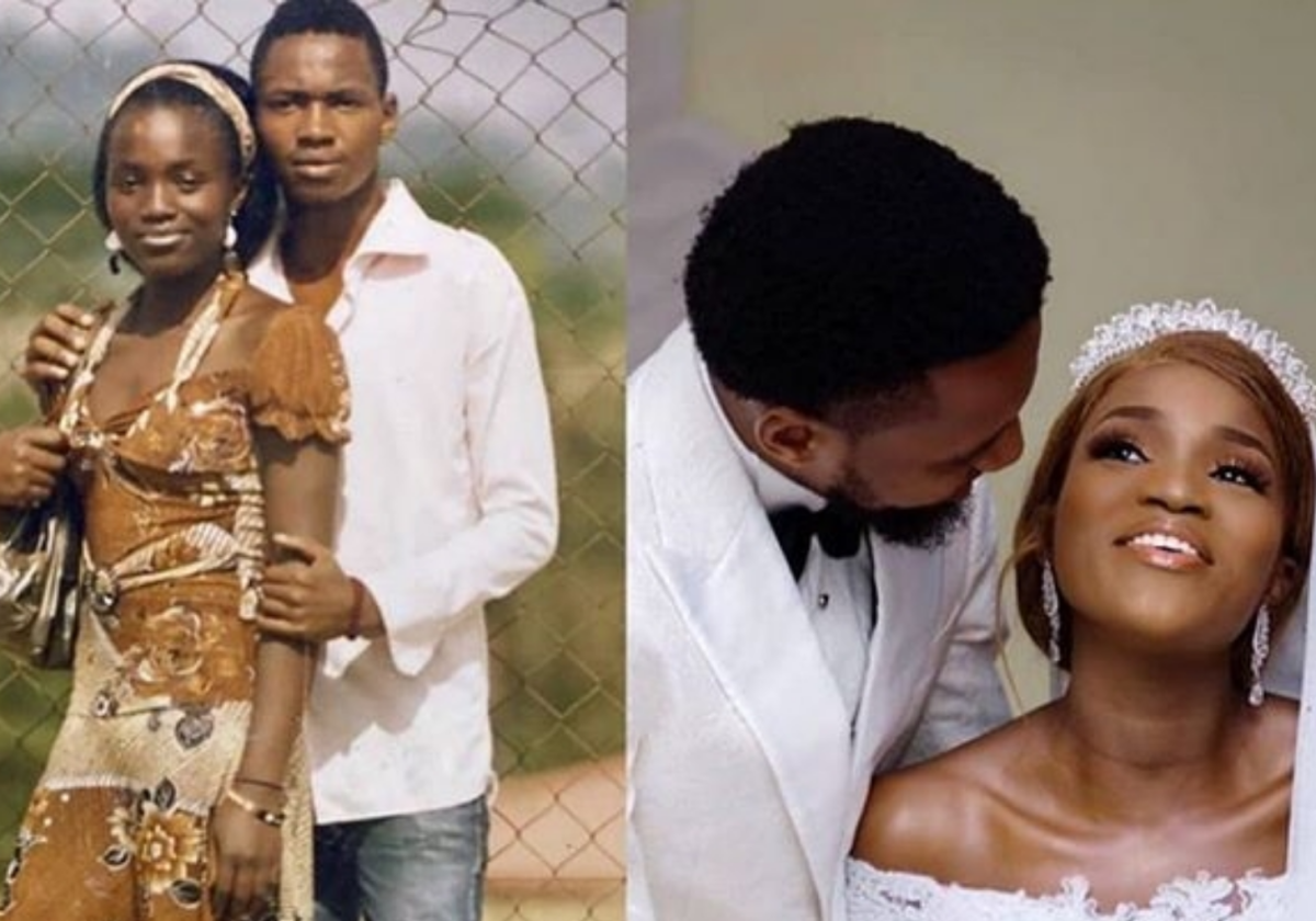 You' re a gift to me – Actress Bukunmi Oluwasina weds her longtime boyfriend (Video)