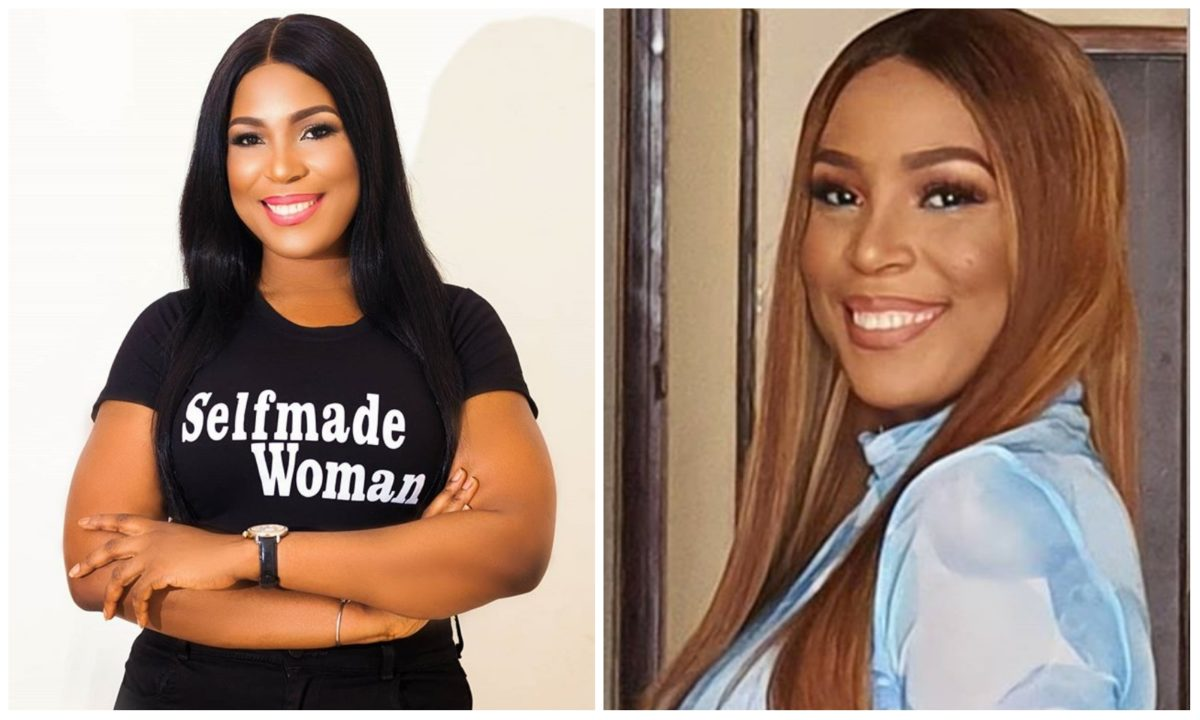 Linda Ikeji gifts herself 85 designer shoes to celebrate her 40th birthday (Photo)