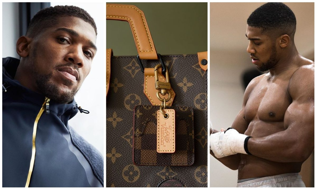 I'll rather carry a bag with 5k pounds than carry a Louis Vuitton bag with 100 pounds – Anthony Joshua