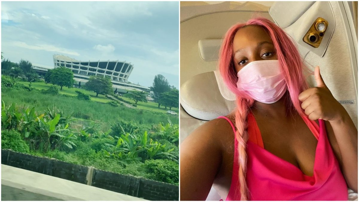 DJ Cuppy finally lands in Nigeria for #EndSARS Protest