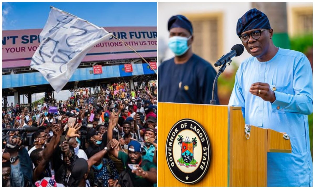 EndSars: Leave the road and let's dialogue – Sanwo-Olu appeals to protesters