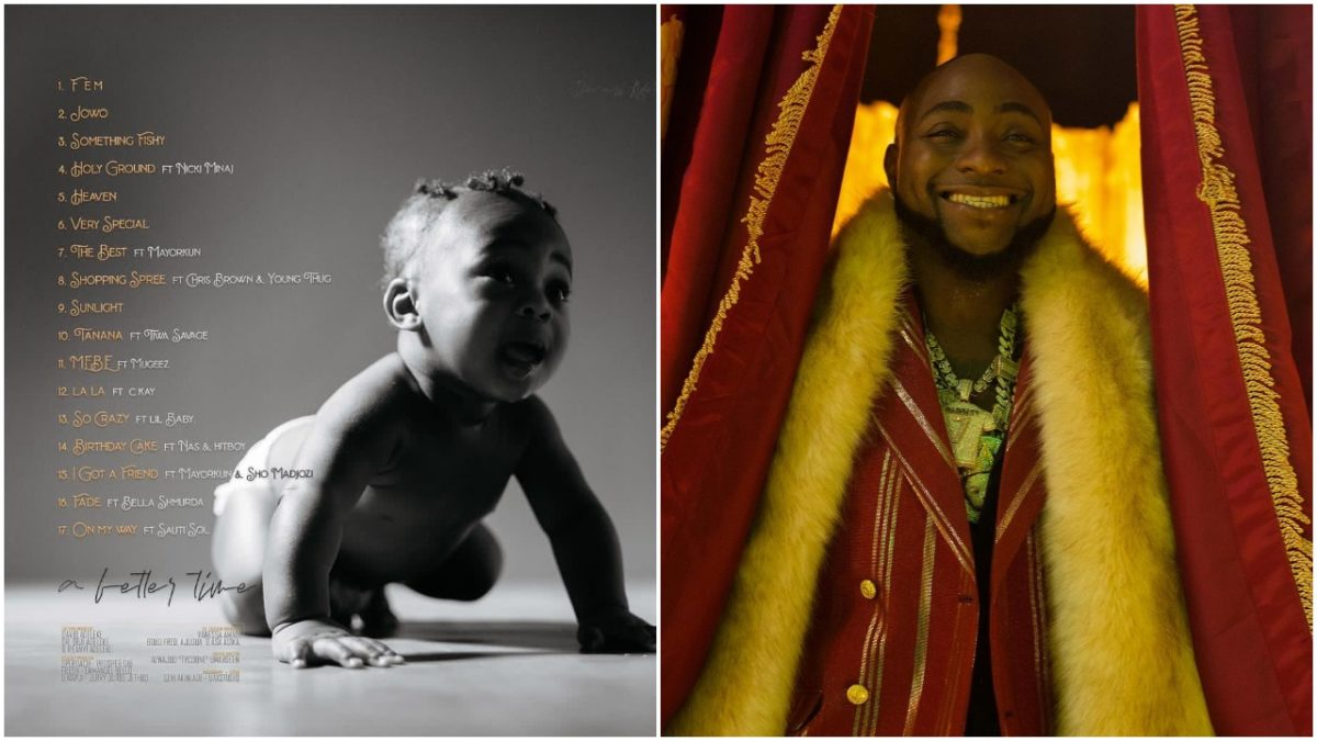 Davido unveils 17 Track list and album cover